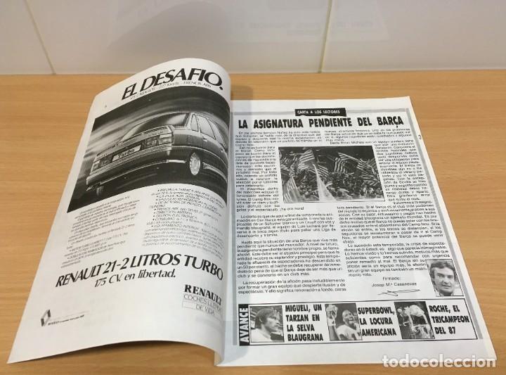 Coleccionismo deportivo: REVISTA DIARIO SPORT - 14 FEBRERO 1988 - MARADONA, SITO PONS Y PÉREZ SALA, PÓSTER DE LENDL... - Foto 3 - 243677985