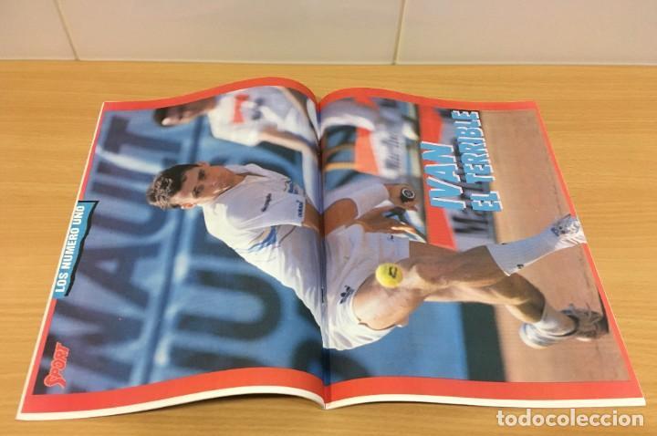 Coleccionismo deportivo: REVISTA DIARIO SPORT - 14 FEBRERO 1988 - MARADONA, SITO PONS Y PÉREZ SALA, PÓSTER DE LENDL... - Foto 4 - 243677985