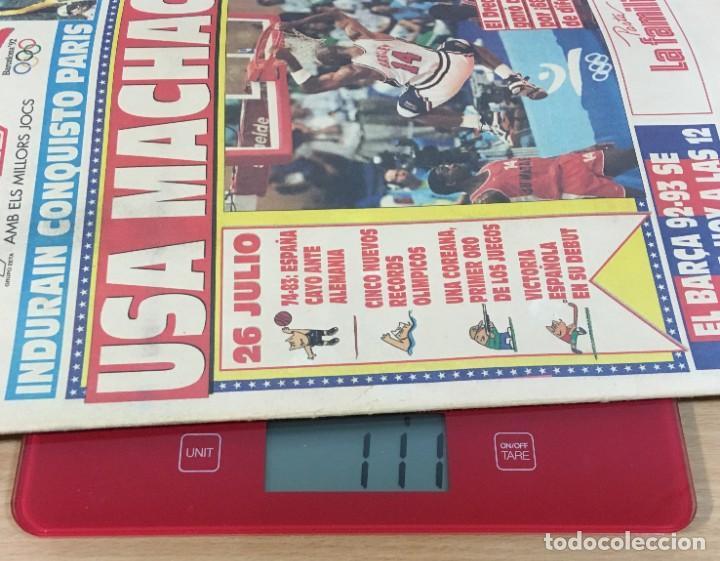 Coleccionismo deportivo: DIARIO SPORT Nº 4563 - 27 JULIO 1992 - INDURÁIN CONQUISTÓ PARÍS - DREAM TEAM USA MACHACA A ANGOLA - Foto 5 - 243679285