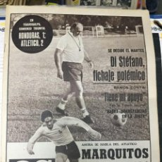 Coleccionismo deportivo: AS (8-6-1979) MARQUITOS DI STEFANO VALENCIA SINDICATOS VALENCIA CORTES DERBI. Lote 243889800