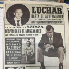 Coleccionismo deportivo: AS (27-5-1979) RIFE RAYO VALLECANO CASTILLA BAYERN MUNCHEN MUNICH GP MONACO INDIANAPOLIS. Lote 243891645