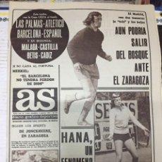 Coleccionismo deportivo: AS (5-5-1979) TENIS EN EL CLUB DE CAMPO HANA JUANITO JUAN GOMEZ REAL MADRID CONGO. Lote 243897025