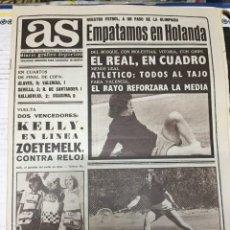 Coleccionismo deportivo: AS (3-5-1979) HOLANDA 1-1 ESPAÑA TENIS KELLY CICLISMO ZOETEMELK BURGOS MIGUELI LUIS URQUIRI BONHOF. Lote 243897475