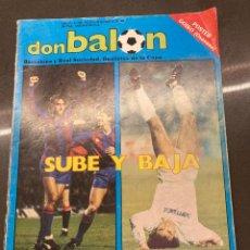 Collectionnisme sportif: DON BALON 645. Lote 243925975