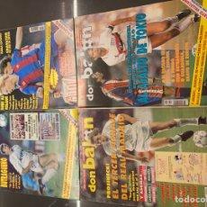 Collectionnisme sportif: 4 REVISTAS DON BALON 1992 (857,862,874 Y 893). Lote 243926590