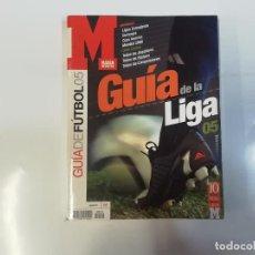 Coleccionismo deportivo: MARCA - GUÍA DE LA LIGA FÚTBOL 05 ( 2005 )- 10 AÑOS GUÍA DE LA LIGA MARCA. Lote 243974865