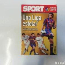 Coleccionismo deportivo: SPORT - EXTRA LIGA 2009 - 2010 - UNA LIGA ESTELAR - FÚTBOL. Lote 243976285