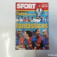 Coleccionismo deportivo: SPORT - ESPECIAL TEMPORADA 2007 - 2008 - TODOS CONTRA LOS FANTÁSTICOS - FÚTBOL. Lote 243976610