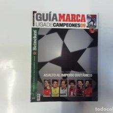 Coleccionismo deportivo: MARCA - GUÍA MARCA - LIGA DE CAMPEONES 09 ( 2009 )- ASALTO AL IMPERIO BRITÁNICO. Lote 243981165