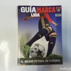 Coleccionismo deportivo: MARCA - GUÍA MARCA DE LA LIGA 09 ( 2009 )- EL MEJOR FÚTBOL DE EUROPA. Lote 243984515