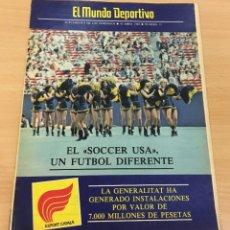 Coleccionismo deportivo: EL MUNDO DEPORTIVO - SUPLEMENTO DOMINICAL Nº 13 - 10 ABRIL 1983 - SOCCER USA - ROD LAVER. Lote 244434755