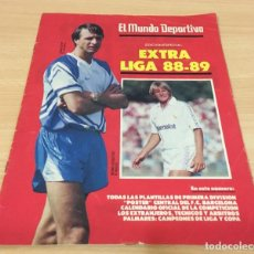 Coleccionismo deportivo: EL MUNDO DEPORTIVO - SUPLEMENTO DOMINICAL EDICIÓN ESPECIAL - EXTRA LIGA FÚTBOL 1988/1989 88/89. Lote 244434950