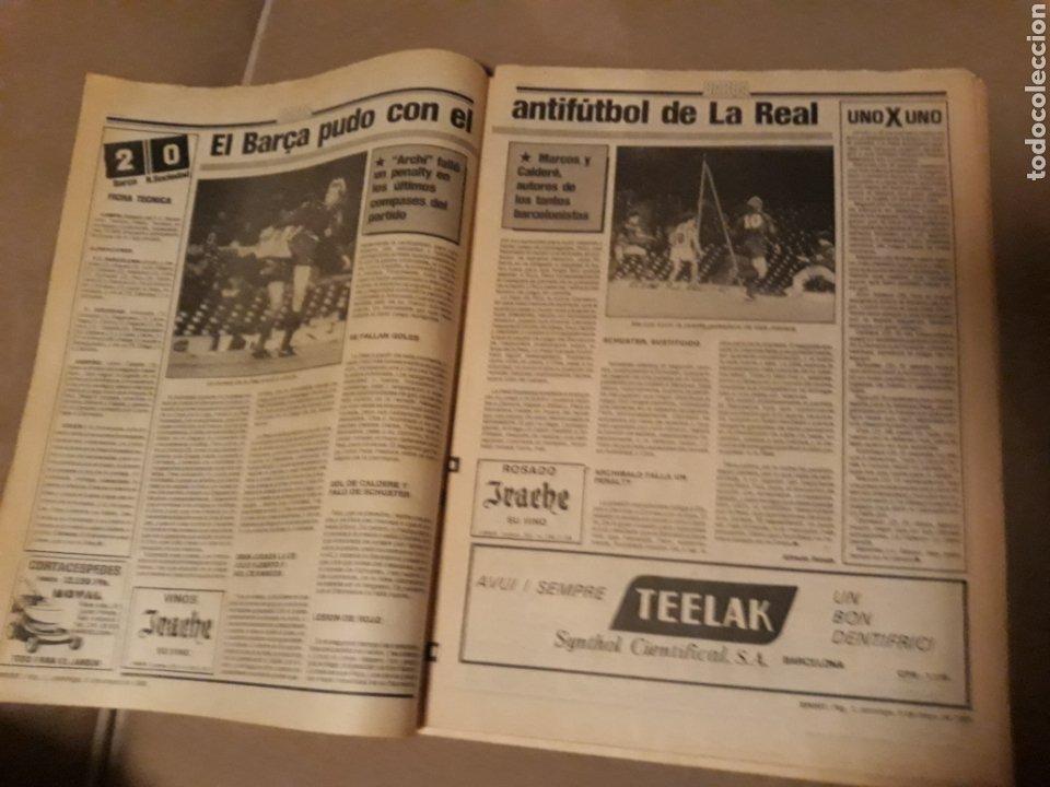Coleccionismo deportivo: SPORT 5 DE MAYO 1985 . BARCA 2 R.SOCIEDAD 0 - HOCKEY . ESPAÑA CAMPEON DE EUROPA 6-2 A PORTUGAL - Foto 3 - 244628765