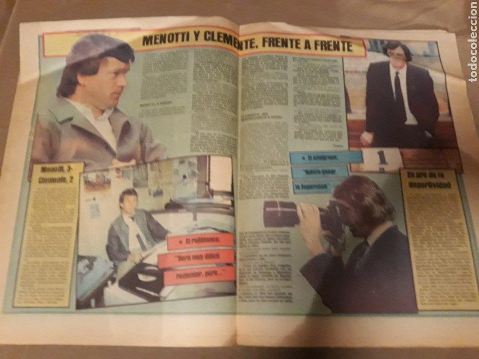 Coleccionismo deportivo: SPORT 29 NOVIEMBRE 1983 .SUPERCOPA BARCA - BILBAO .JULIO ALBERTO ACUSA CLEMENTE ES UN COBARDE. GOICO - Foto 3 - 244628910