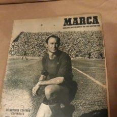 Coleccionismo deportivo: MARCA 1950 . BARCELONA 7 R.MADRID 2 . AT.MADRID 2 MURCIA 2 . GOLF EN BILBAO. Lote 244629680