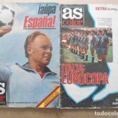 Coleccionismo deportivo: LOTE 2 EXTRAS AS COLOR; MUNDIAL ARGENTINA 78+EUROCOPA 80. Lote 99220875