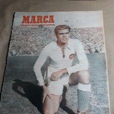 Coleccionismo deportivo: MARCA 1951 -ALCOYANO 2 R.MADRID 1 - AT.MADRID 3 CELTA 2 . BALOMPEDICA LINENSE VETUSTA DE OVIEDO. Lote 244917515