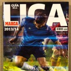 Collezionismo sportivo: GUÍA MARCA DE LA LIGA 2013/14. DESAFÍO MUNDIAL.. Lote 245065395
