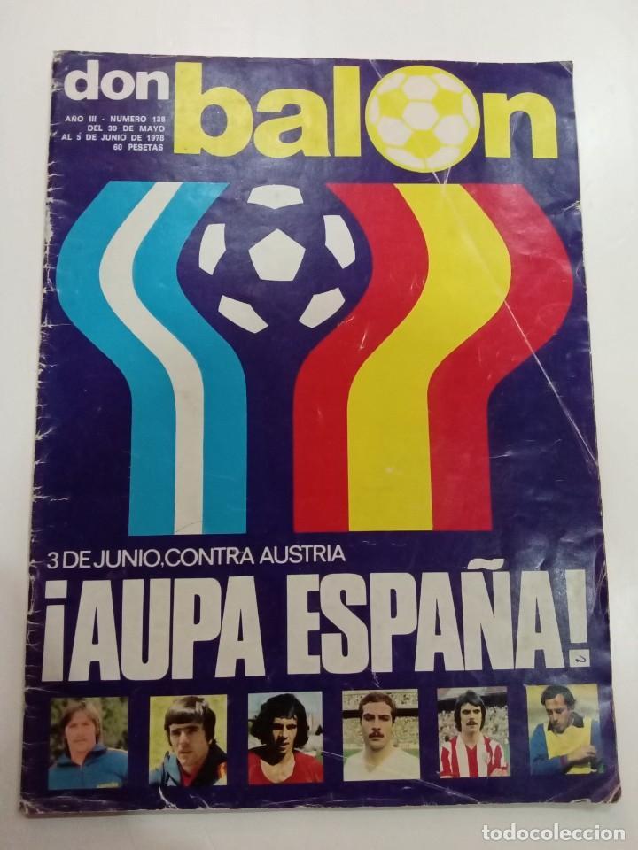 DON BALÓN AÑO 1978 (Coleccionismo Deportivo - Revistas y Periódicos - Don Balón)