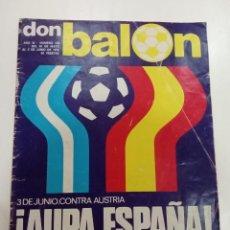 Coleccionismo deportivo: DON BALÓN AÑO 1978. Lote 245087660