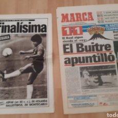 Coleccionismo deportivo: LOTE PERIÓDICOS. DIEGO ARMANDO MARADONA. Lote 245219695