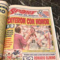 Colecionismo desportivo: LIBRO MUNDIAL 94 USA SPORT. Lote 245228075