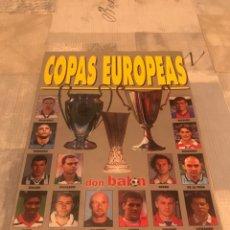 Collectionnisme sportif: FÚTBOL DON BALÓN EXTRA 44 - COPAS EUROPEAS 98/99 - ALBUM. Lote 245250330