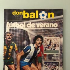 Coleccionismo deportivo: DON BALÓN 359 (AGOSTO 1982) TORNEOS DE VERANO. ZUBIZARRETA. ÁLVAREZ MARGÜENDA. PERICO FERNÁNDEZ.. Lote 245463435