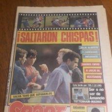 Coleccionismo deportivo: SPORT 6 MARZO 1985 . TOTTENHAM - R.MADRID. COPA DAVIS 1985 ESPAÑA - ALEMANIA - CASAL ,AGUILERA ETC.. Lote 245477325