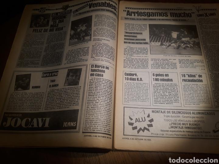 Coleccionismo deportivo: SPORT 4 DE OCTUBRE DE 1984 . BARCELONA 1 METZ 4 - AT.MADRID 2 SION 3 CAPITULO 2 VIDA DE QUINI. - Foto 4 - 245481945