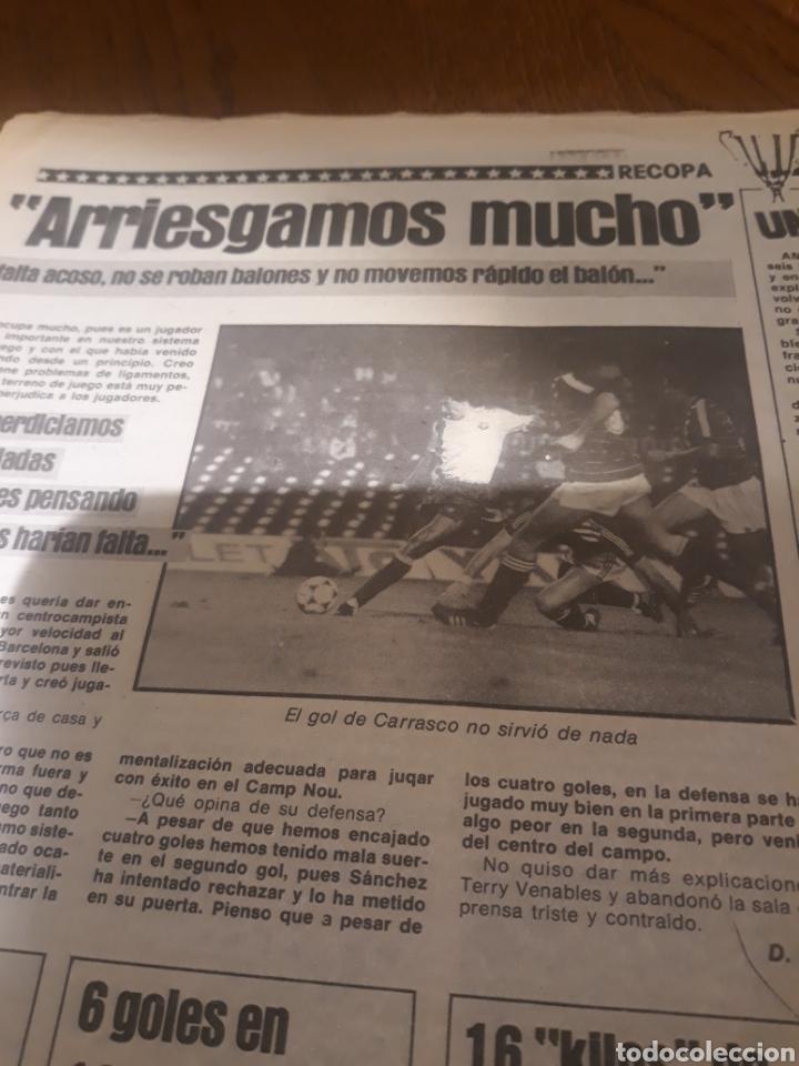 Coleccionismo deportivo: SPORT 4 DE OCTUBRE DE 1984 . BARCELONA 1 METZ 4 - AT.MADRID 2 SION 3 CAPITULO 2 VIDA DE QUINI. - Foto 6 - 245481945