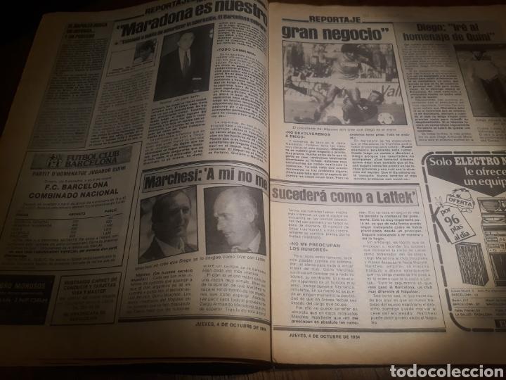 Coleccionismo deportivo: SPORT 4 DE OCTUBRE DE 1984 . BARCELONA 1 METZ 4 - AT.MADRID 2 SION 3 CAPITULO 2 VIDA DE QUINI. - Foto 11 - 245481945