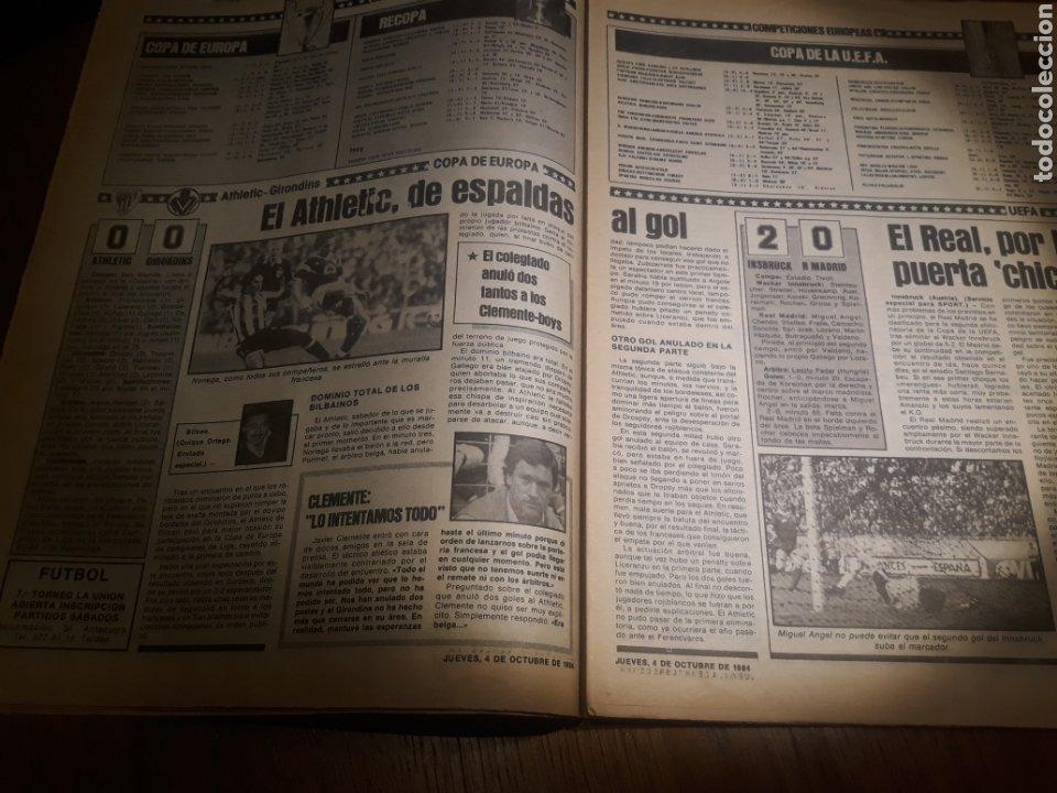 Coleccionismo deportivo: SPORT 4 DE OCTUBRE DE 1984 . BARCELONA 1 METZ 4 - AT.MADRID 2 SION 3 CAPITULO 2 VIDA DE QUINI. - Foto 12 - 245481945