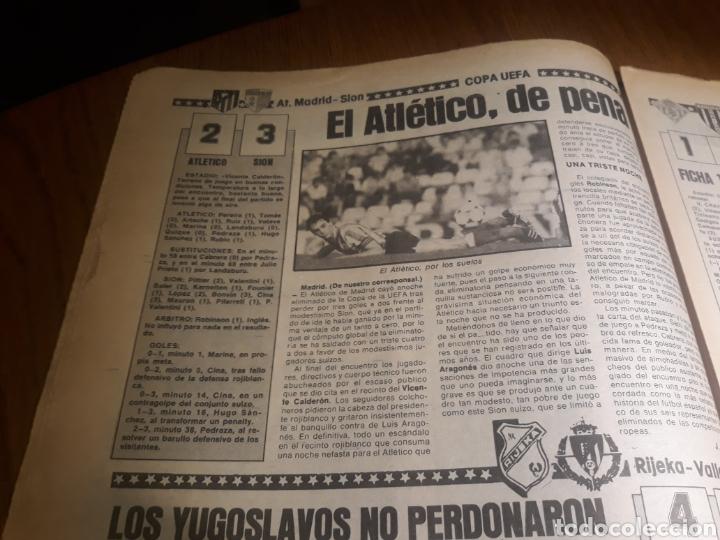 Coleccionismo deportivo: SPORT 4 DE OCTUBRE DE 1984 . BARCELONA 1 METZ 4 - AT.MADRID 2 SION 3 CAPITULO 2 VIDA DE QUINI. - Foto 14 - 245481945