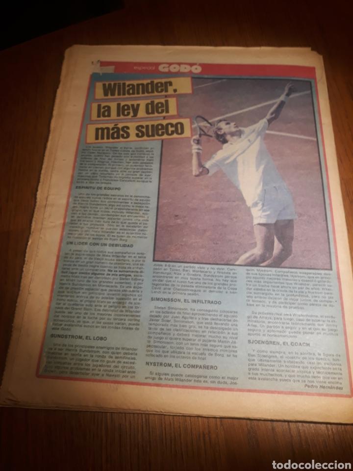 Coleccionismo deportivo: SPORT 4 DE OCTUBRE DE 1984 . BARCELONA 1 METZ 4 - AT.MADRID 2 SION 3 CAPITULO 2 VIDA DE QUINI. - Foto 16 - 245481945