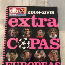 Coleccionismo deportivo: FÚTBOL DON BALÓN EXTRA 108 - COPAS EUROPEAS 2008-09 - CHAMPIONS EUROPA LEAGUE EUROCUP ALBUM. Lote 245522390