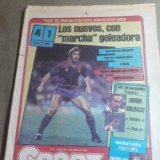 Coleccionismo deportivo: SPORT 1 DE ABRIL 1984 . BARCELONA 4 CADIZ 1 - ENTREVISTA A CLOS. Lote 245545635