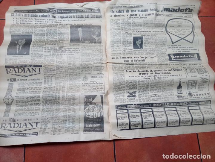 Coleccionismo deportivo: DIARIO EL MUNDO DEPORTIVO DEL 6 DE MARZO DE 1966 EL ESPAÑOL EUFORICO - Foto 2 - 245761910