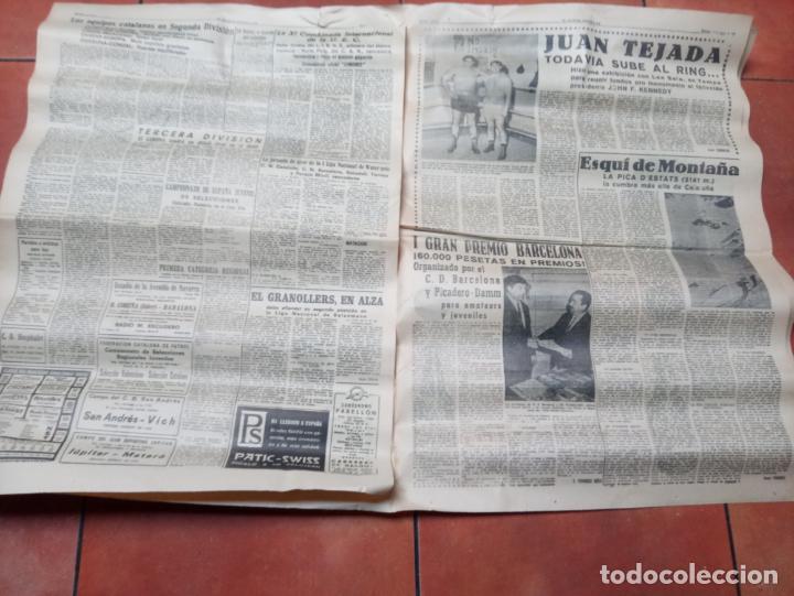 Coleccionismo deportivo: DIARIO EL MUNDO DEPORTIVO DEL 6 DE MARZO DE 1966 EL ESPAÑOL EUFORICO - Foto 3 - 245761910