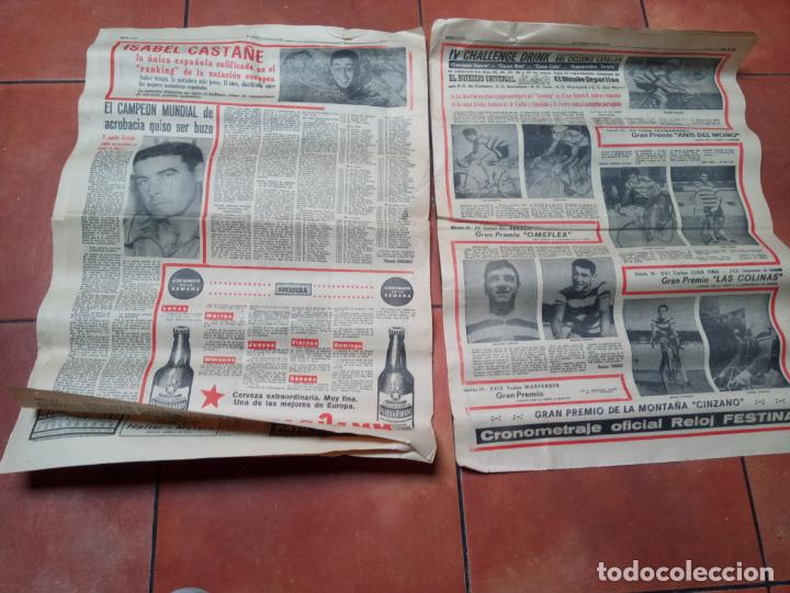Coleccionismo deportivo: DIARIO EL MUNDO DEPORTIVO DEL 6 DE MARZO DE 1966 EL ESPAÑOL EUFORICO - Foto 4 - 245761910