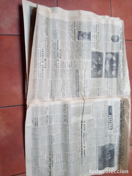 Coleccionismo deportivo: DIARIO EL MUNDO DEPORTIVO DEL 6 DE MARZO DE 1966 EL ESPAÑOL EUFORICO - Foto 5 - 245761910