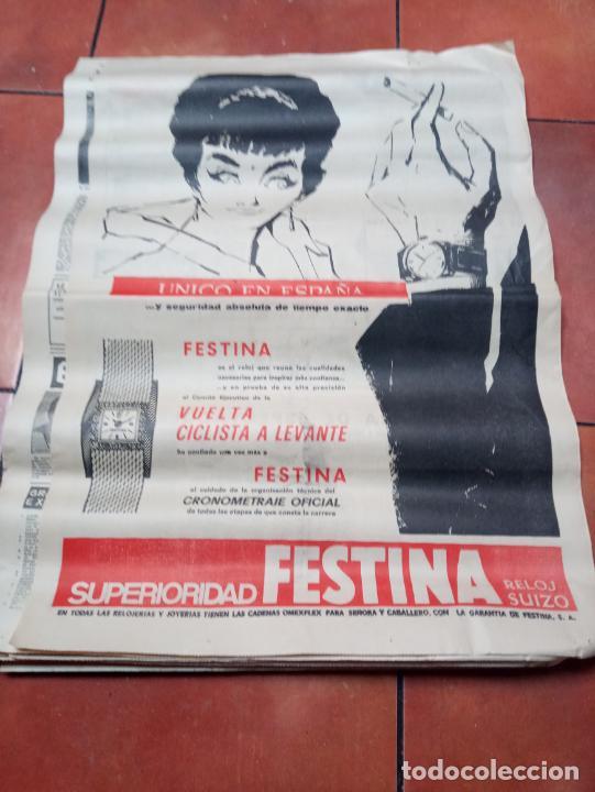 Coleccionismo deportivo: DIARIO EL MUNDO DEPORTIVO DEL 6 DE MARZO DE 1966 EL ESPAÑOL EUFORICO - Foto 6 - 245761910