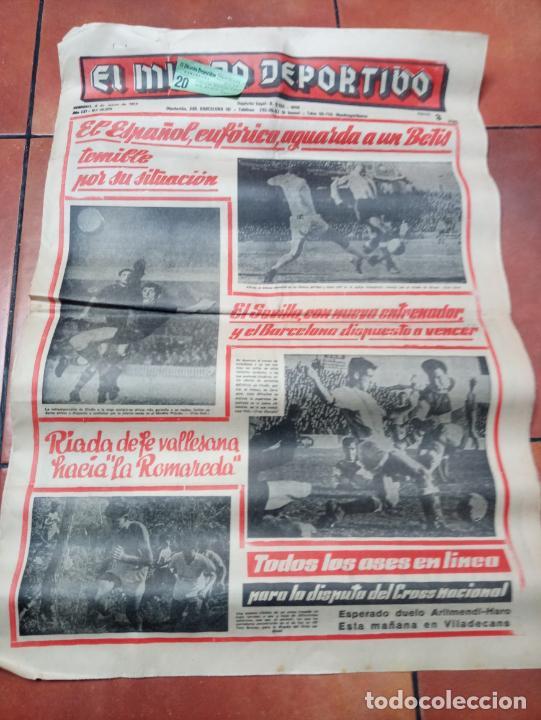 DIARIO EL MUNDO DEPORTIVO DEL 6 DE MARZO DE 1966 EL ESPAÑOL EUFORICO (Coleccionismo Deportivo - Revistas y Periódicos - Mundo Deportivo)