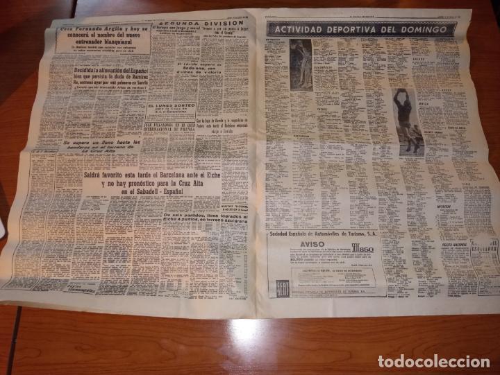 Coleccionismo deportivo: DIARIO EL MUNDO DEPORTIVO DEL 26 DE FEBRERO DE 1966 ARGILAGA CESA COMO ENTRENADOR DEL ESPAÑOL - Foto 3 - 245990185