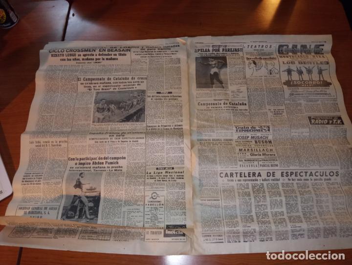 Coleccionismo deportivo: DIARIO EL MUNDO DEPORTIVO DEL 26 DE FEBRERO DE 1966 ARGILAGA CESA COMO ENTRENADOR DEL ESPAÑOL - Foto 4 - 245990185