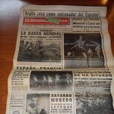Coleccionismo deportivo: DIARIO EL MUNDO DEPORTIVO DEL 26 DE FEBRERO DE 1966 ARGILAGA CESA COMO ENTRENADOR DEL ESPAÑOL. Lote 245990185
