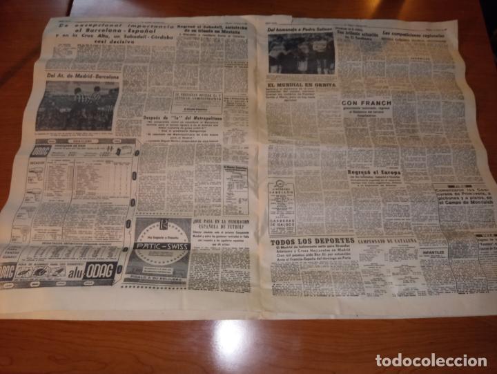 Coleccionismo deportivo: EL MUNDO DEPORTIVO DEL 9 DE FEBRERO DE 1966 RESUENAN TODAVIA LOS ECOS TRIUNFALES DEL DOMINGO - Foto 3 - 246001145