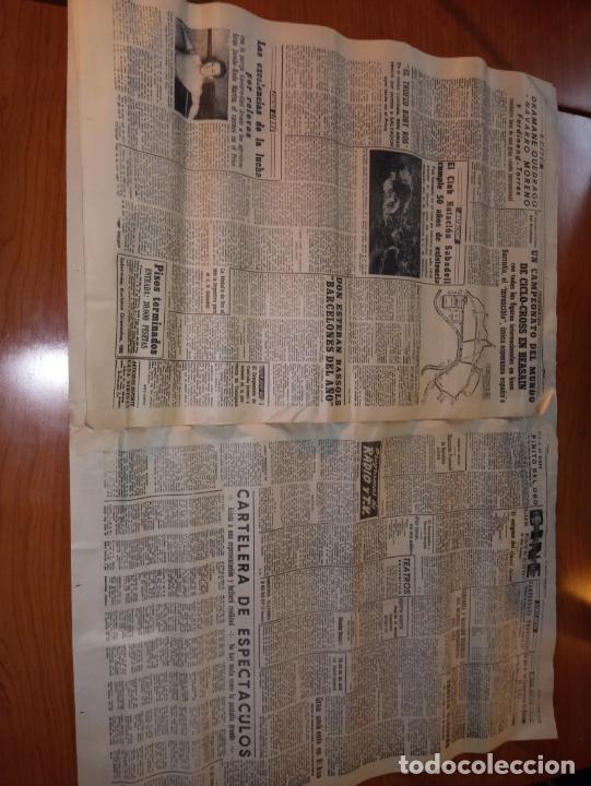 Coleccionismo deportivo: EL MUNDO DEPORTIVO DEL 9 DE FEBRERO DE 1966 RESUENAN TODAVIA LOS ECOS TRIUNFALES DEL DOMINGO - Foto 4 - 246001145