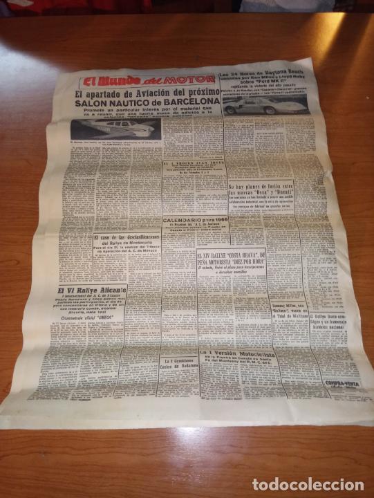 Coleccionismo deportivo: EL MUNDO DEPORTIVO DEL 9 DE FEBRERO DE 1966 RESUENAN TODAVIA LOS ECOS TRIUNFALES DEL DOMINGO - Foto 5 - 246001145