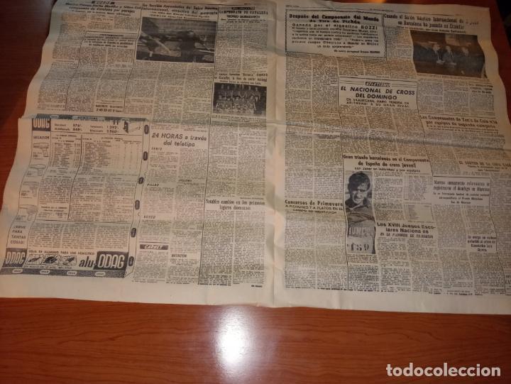 Coleccionismo deportivo: EL MUNDO DEPORTIVO DEL 3 DE MARZO DE 1966 BARCELONA Y ESPAÑOL EN HANNOVER - Foto 3 - 246001780